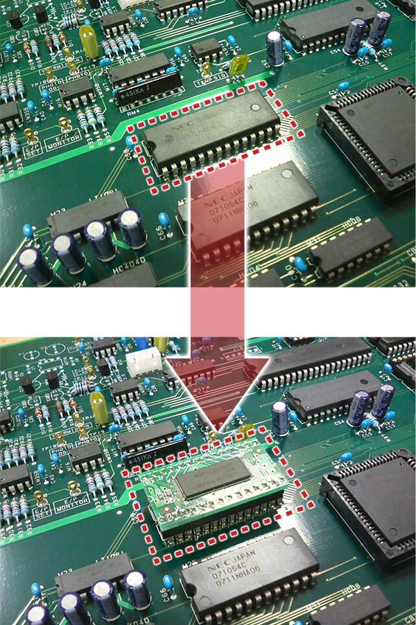 プリント基板IC互換アタッチメント「コンパチビリー ...